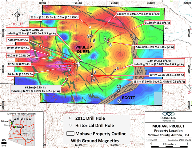 Mohave Copper-Molybdenum-Silver Porphyry Property